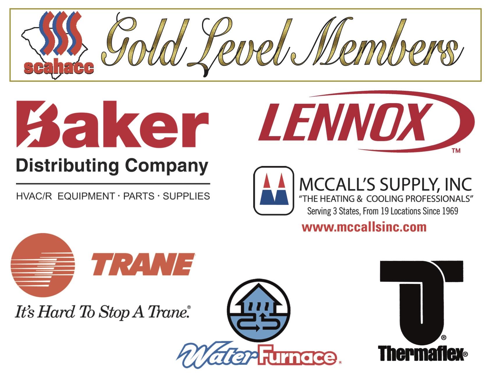 2018 Gold Distributor Member Logos
