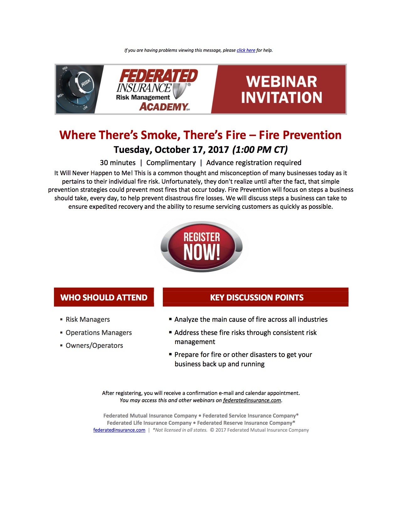 RMA Complimentary Webinar_Where There's Smoke There's Fire_10-17-17