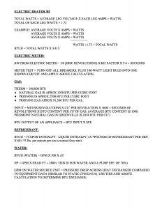 HVAC Formulas 2